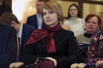 Olena Zerkal wird Beraterin von Naftogaz-Chef