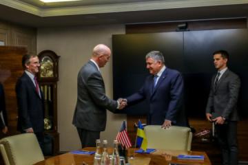 Ukraine's interior minister meets with U.S. deputy assistant secretary