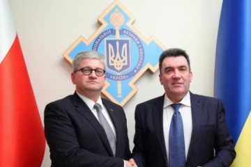 Ukraine, Poland to develop bilateral cooperation in defense, cybersecurity - NSDC