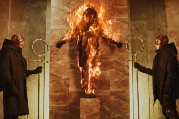 "Zayn rueda  en Kyiv el videoclip ""Flames"""
