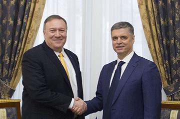 Prystaiko et Pompeo conviennent d'approfondir le partenariat stratégique entre l'Ukraine et les États-Unis
