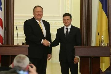 Zełenski - Ukraina jest gotowa rozwijać nowe formy partnerstwa z USA w dziedzinie bezpieczeństwa