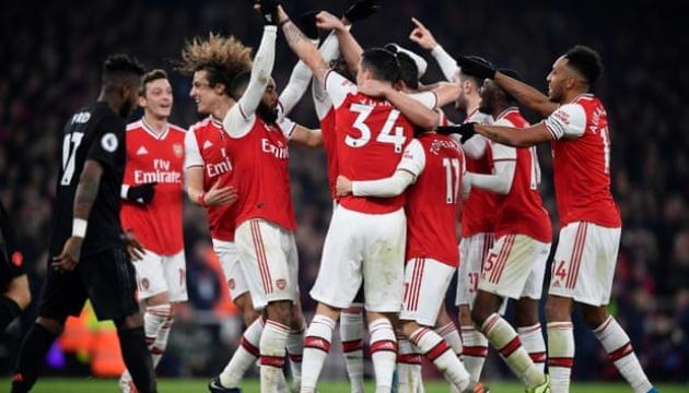 АПЛ: «Арсенал» обіграв «МЮ»