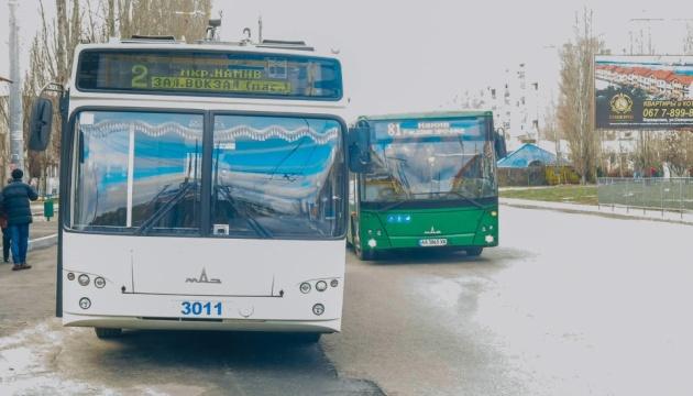У Миколаєві побудували нову тролейбусну лінію