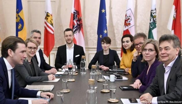 В Австрии сформировали новое правительство, более половины в нем - женщины