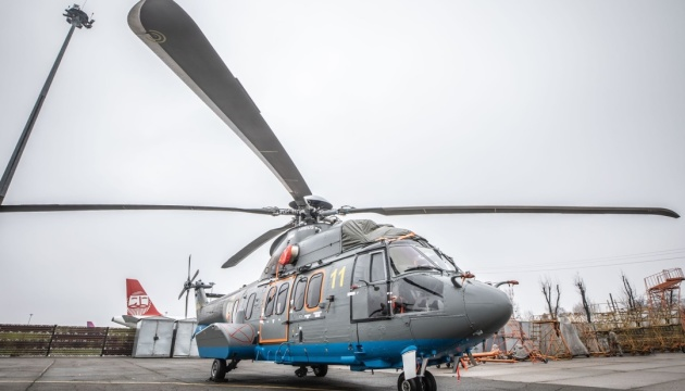 Two Airbus H125 helicopters arrive in Ukraine