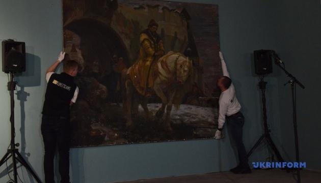 Повернену Україні картину Паніна відреставрують