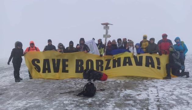 Пластуни та екоактивісти доставили Вифлеємський вогонь миру на Боржаву
