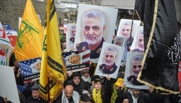 Під час похорон Сулеймані в Ірані загинули вже 56 осіб