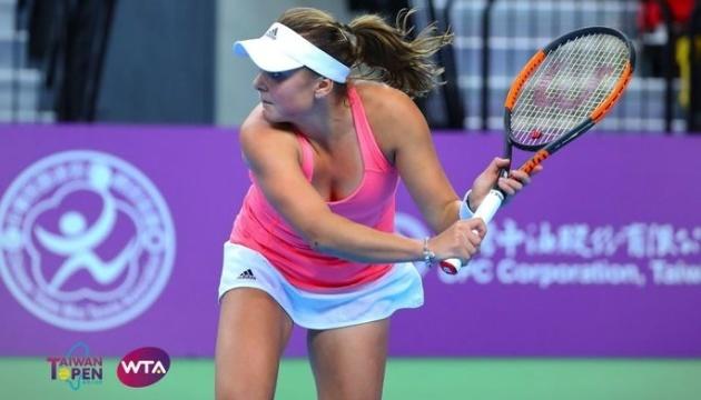 Козлова вибула з боротьби у парній сітці турніру WTA в Гобарті