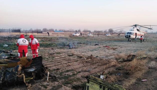 Літак МАУ зі 180 пасажирами розбився в Тегерані — ЗМІ