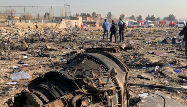 Самолет МАУ в Иране сбили ракетой