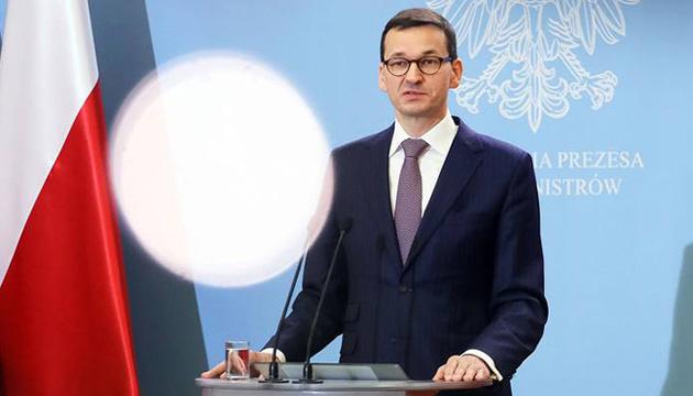 Моравецький: Відповіддю на отруєння Навального має стати відмова від Nord Stream 2