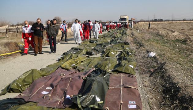 L'identification des corps des Ukrainiens tués dans l'accident d'avion en Iran est terminée