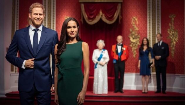 Музей мадам Тюссо убрал фигуры принца Гарри и Меган Маркл