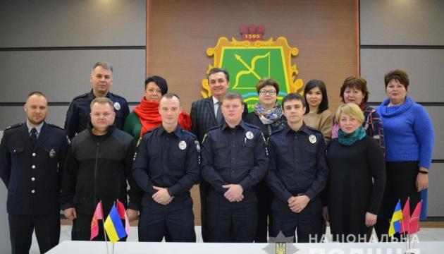 На Харківщині у 13 ОТГ вже працюють поліцейські офіцери громади