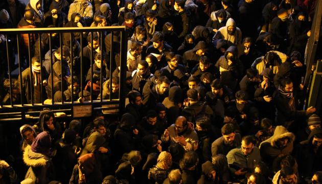 В Тегеране начались протесты после признания вины за уничтожение самолета МАУ