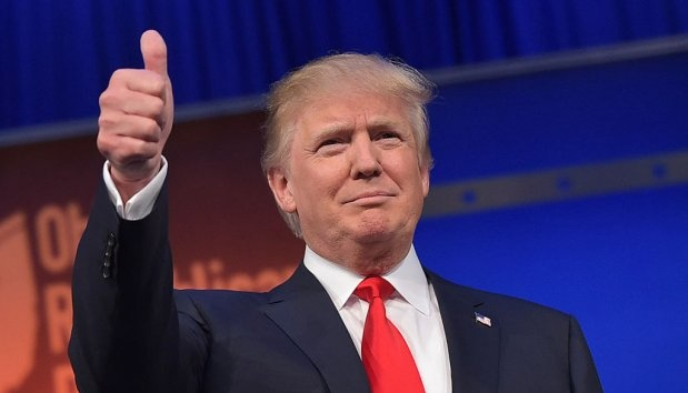 Трамп показав логотип космічних військ США