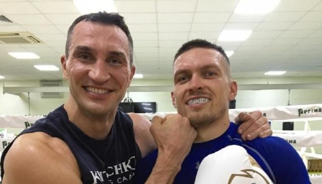 Klitschko to help Usyk prepare for fight against Chisora