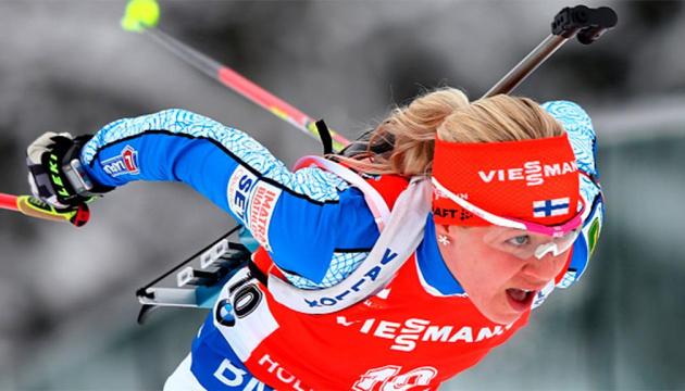 Мякяряйнен виграла масстарт Кубка світу з біатлону в Обергофі