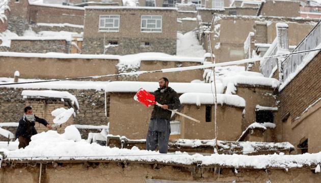 Снігопади в Афганістані: загинули 16 осіб