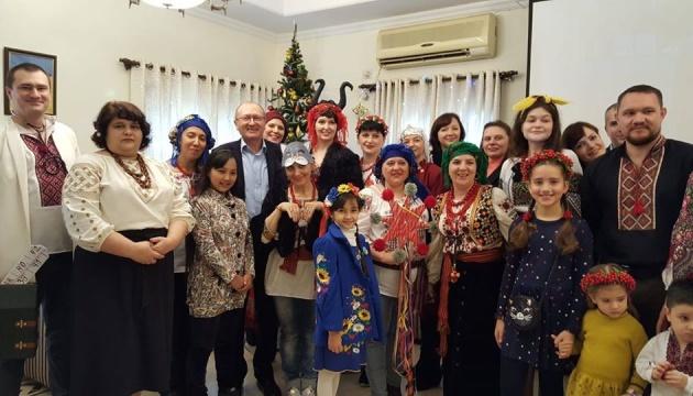 Щедрувальники завітали до посольства України в Індії