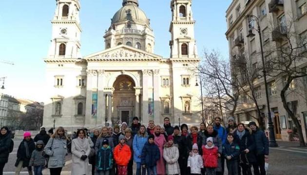 Українці Угорщини відвідали першу в історії україномовну екскурсію у храмі Будапешта