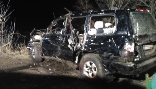 Аварія з Land Cruiser на слизькій греблі: поліція розповіла подробиці