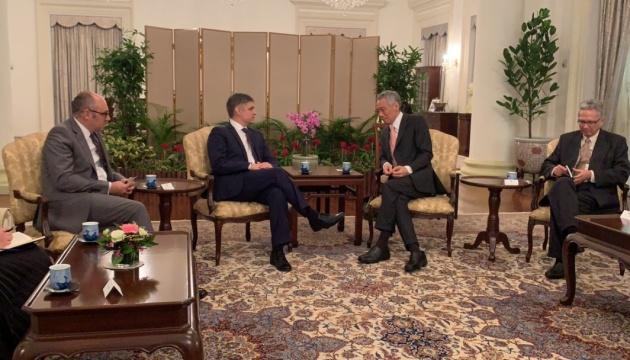 Пристайко зустрівся з прем'єром Сінгапуру