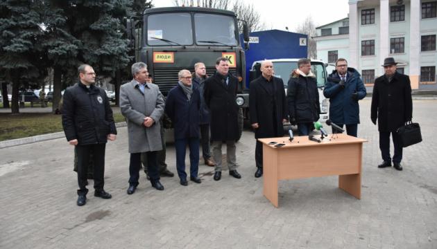 Чотири країни передали гуманітарний вантаж для мешканців Донбасу
