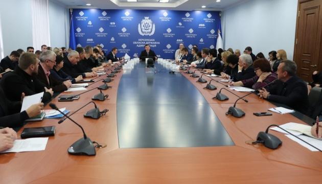 На Херсонщині збудують шість будинків для переселенців з Криму