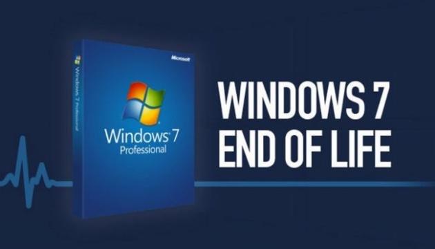 Microsoft офіційно припинила технічну підтримку Windows 7
