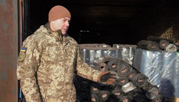 На Донбас відправили двадцять тонн гуманітарної допомоги