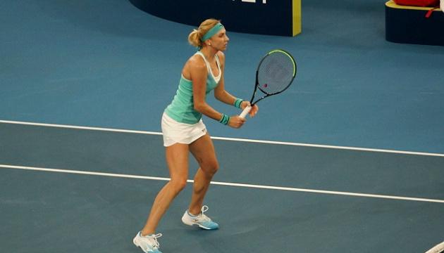 Людмила Кіченок не змогла пройти у парі перший раунд турніру WTA в Аделаїді