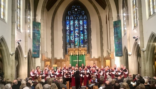 У Торонто відбувся різдвяний концерт хору
