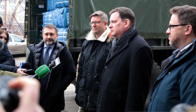 На Донбас привезли гуманітарну допомогу від країн ЄС