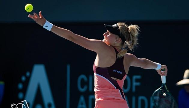 Tennis: Yastremska im Viertelfinale des WTA-Turniers in Adelaide