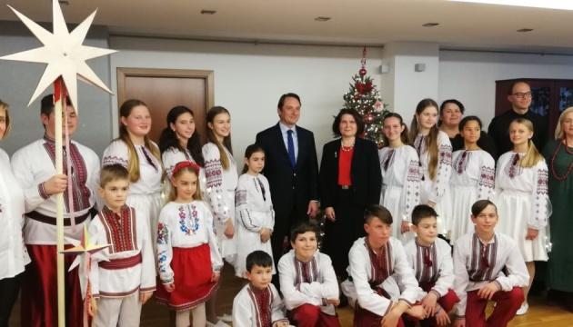 Українські колядки створили святковий настрій в Афінах