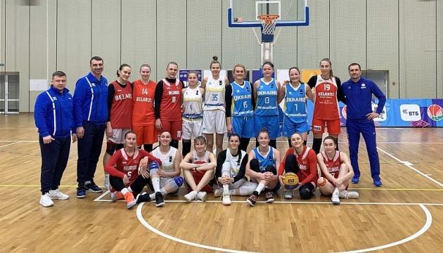 Сборная Украины по баскетболу 3х3 победила на турнире в Минске