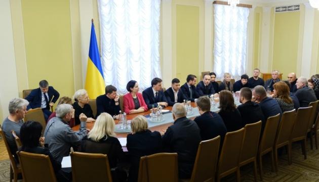 ゼレンシキー大統領、イランでのウクライナ機撃墜被害者遺族と再び面会