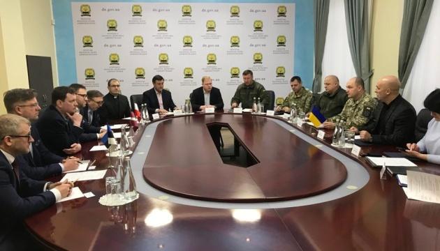 Посли Польщі, Латвії та Естонії відвідали Краматорськ
