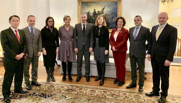 Рябошапка обговорив з послами G7 розслідування катастрофи літака МАУ