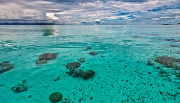 В Индонезии два острова полностью ушли под воду из-за глобального потепления