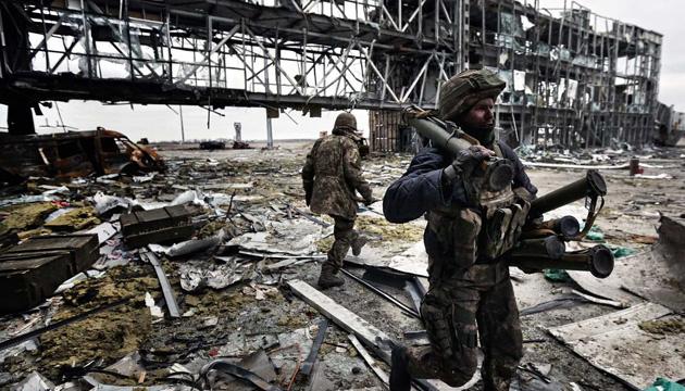 """Зеленський назвав """"кіборгів"""" найкращим прикладом для тих, хто боронить Україну"""