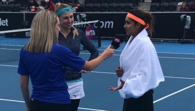Кіченок із Мірзою пробилися у півфінал турніру WTA в Гобарті