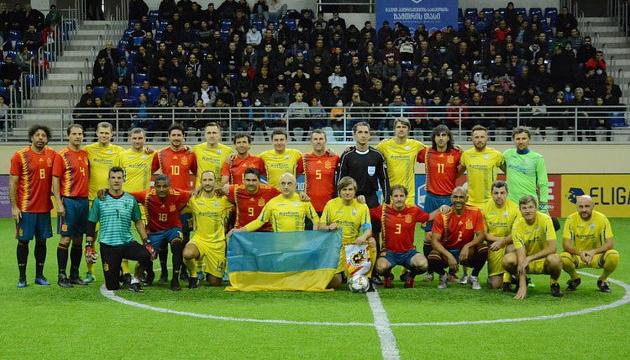 Збірна футбольних ветеранів України побореться за Кубок легенд у Батумі