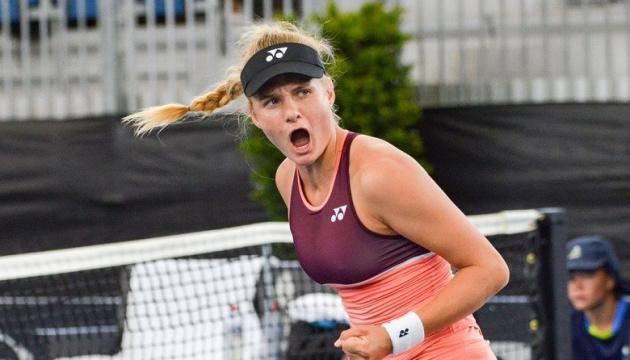 ヤストレムシカが決勝進出 女子テニス