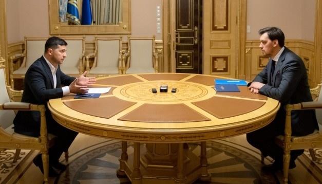 Le Président a décidé d'accorder une seconde chance à Olexiy Hontcharouk