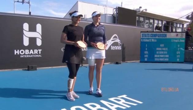 Киченок победитела на турнире WTA в Хобарте в парном разряде