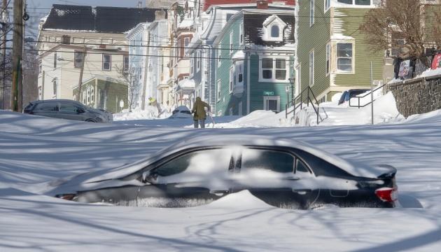Снігопад у Канаді побив 20-річний рекорд